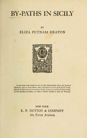eliza putname heaton