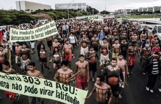 manifestazione brasile