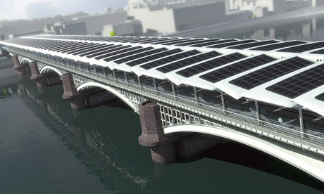 Blackfriars-ponte solare