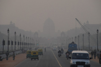 inquinamento new delhi