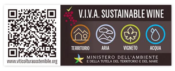 etichetta vino viva