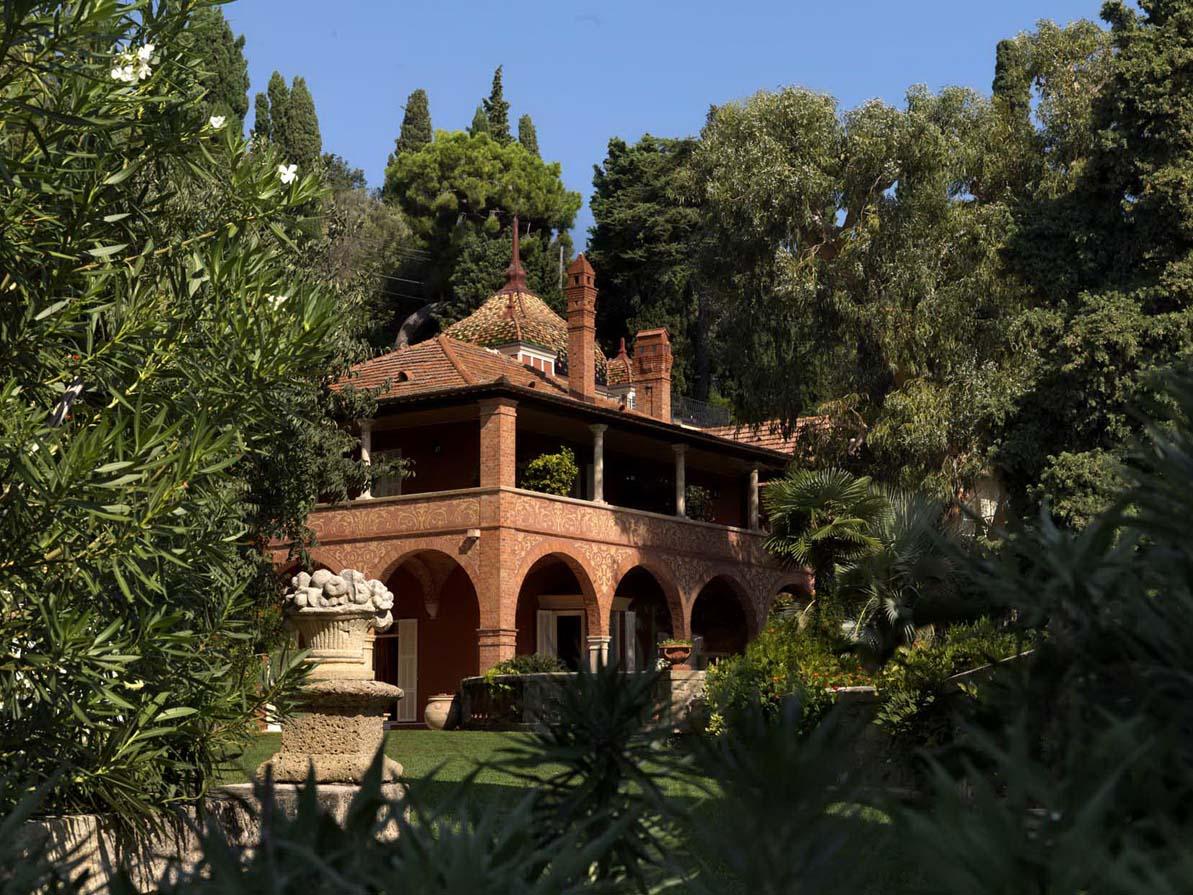 Villa della pergola di alassio ultimi giorni per visitare for Giardini villa della pergola
